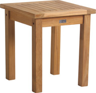 "Aqua Solstice 18"" Square Side Table"