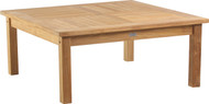 "Aqua Solstice Square Coffee Table 41"" x 41"""