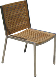 Aqua Supreme Stacking Side Chair