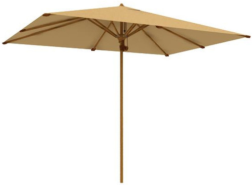 "teak patio furniture - Aqua Shade 98.5"" Square Parasol (2903)"