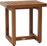 "18"" Wide Grate™ Teak Side Table"