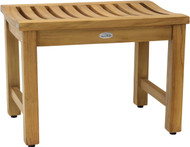 "24"" Aqua Stratus Elite Teak Indoor & Outdoor Bench"