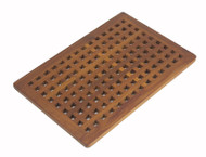 Custom Spa Teak Floor Mat