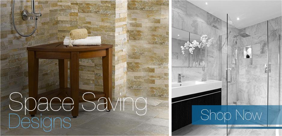 Teak Shower Bench | Teak Bath Stools | Teak Furniture   AquaTeak