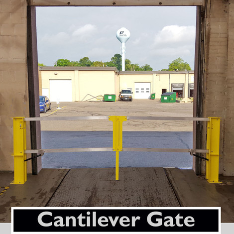 Cantilever Dock Door Gate Safety Rail Company Llc