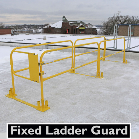 Guardrail Systems Ladder Safety Gate Roof Safety