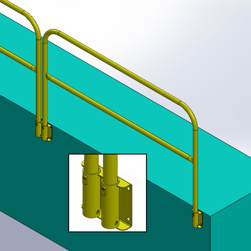 Guardrail Systems Safety Guard Rails Removable Railing