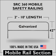 SRC 360 MOBILE RAILING SECTION GALVANIZED