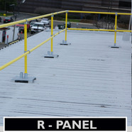 ACCU-FIT GUARDRAIL FOR R-PANEL METAL DECKS