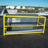 "56"" x 56"" Hatch Guard with 56"" Gate"