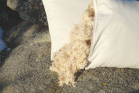 Natural Kapok Silk Pillow-Organic