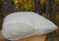 Wool Fill Pillow- Organic