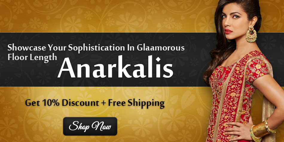 Attractive Lehenga Style Anarkali Suit