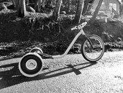1. Basic wheel drift trike complete