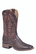 """Boulet 14"""" Chocolate Belly Caiman Matte 7533"""