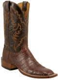Lucchese Cowboy Seguin Sienna Ultra Crocodile Belly Cut C1001