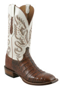 Lucchese Cowboy McAllen Rust Ultra Crocodile Belly Cut C1005