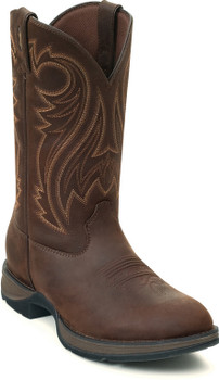 Rebel by Durango Chocolate Pull-On Western Boot DB5464