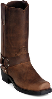 Durango Gaucho Distressed Leather Harness Boots DB594