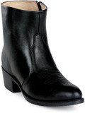 Durango Black Leather Side Zip Western Boot DB950