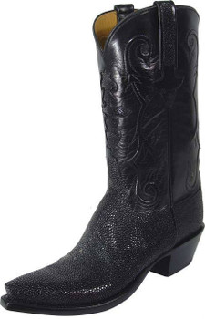 Lucchese Classics Stingray Black Shaved L1313