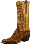 Lucchese Classics Men's Peat Elephant and Antique Saddle Ranch Hand #L1389