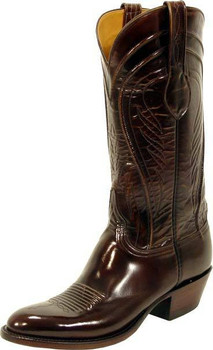 Lucchese Classics Goat Brown Brush Off L1507