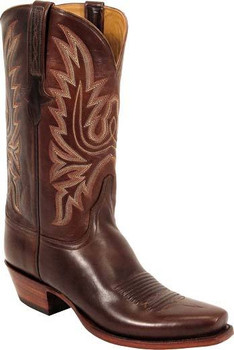 Lucchese Classics Oil Calf Chocolate L1569