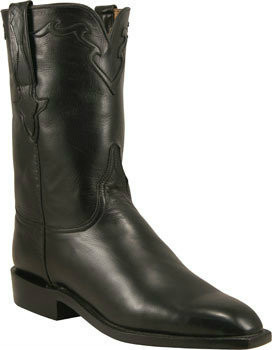 Lucchese Classics Buffalo Calf Black Florence L3556