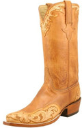Lucchese Classics Leggenda Hand Tooled Honey Burnished Ranch Hand L8016