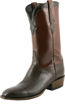 Lucchese Classics Classic Cowboy - Lizard With Kennedy Band Sport Rust L9402