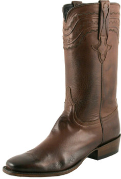 Lucchese Classics Classic Cowboy With Louis Cord Whiskey Burnished Baby Buffalo L9502