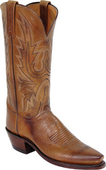 Lucchese 1883 New Leaf Tan Burnished Mad Dog Goat N4540