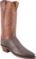 Lucchese 1883 Miller Chocolate Burnished Mad Dog Goat N4583