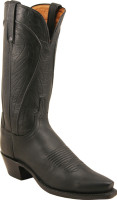 Lucchese 1883 Mayela Black Burnished Ranch Hand N4605