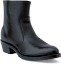 Durango Black Leather& Side Zip Western Boot TR820