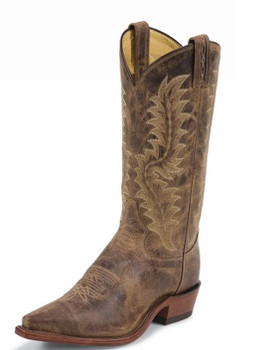 Tony Lama EL PASO COLLECTION TAN SAIGETS WORN GOAT #6979