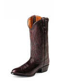 Nocona Men's BLACK CHERRY BRUSH-OFF IMPERIAL CALF #NB2006