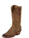Tony Lama Womens Boot AMERICANA GOLDEN TAN NAVAJO #7908L