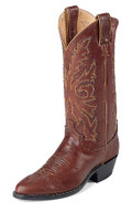 Men's Justin WESTERN Collection CHESTNUT MARBLED DEERLITE #1560
