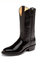 Men's Justin WESTERN Collection BLACK MELO-VEAL #3040