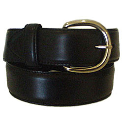 "CLASSIC WESTERN  BLACK OIL LEATHER 1 1/2"" STRAP #53713"