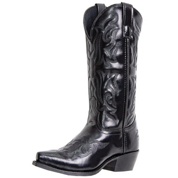"Men's Laredo 12"" Hawk BLACK #6860"