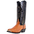 "Men's Laredo 13"" Exotic Prints Atlanta PEANUT LIZARD PRINT #68086"