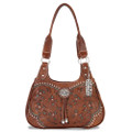 American west Lady Lace Collection 3 compartment zip-top scoop tote #LCBT767