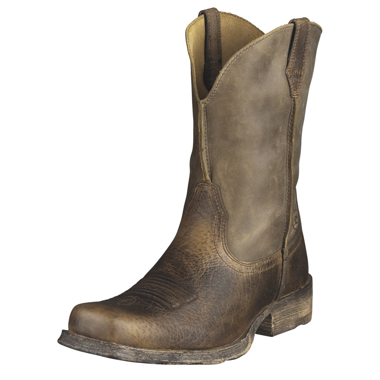 s ariat boots rambler earth brown bomber 10002317