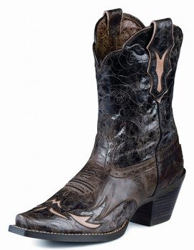 Women's Ariat Boots DAHLIA SILLY BROWN / CHOCOLATE FLORAL #10008780