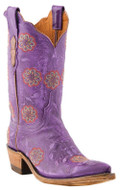 Women's Lucchese 1883 Vicki Destroyed Purple Gromwell Goat #N4748