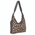 American west Santa Fe Spirit collection Zip-top slouch hobo with adjustable shoulder strap #3162572