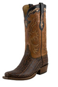 Men's Lucchese Classics Bark Elephant with Cognac Burnished Ranch Hand #L1427